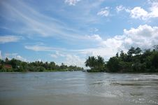 Free On The Mekong River Stock Photos - 5679743