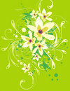 Free Floral Ornamental Background Royalty Free Stock Images - 5683289