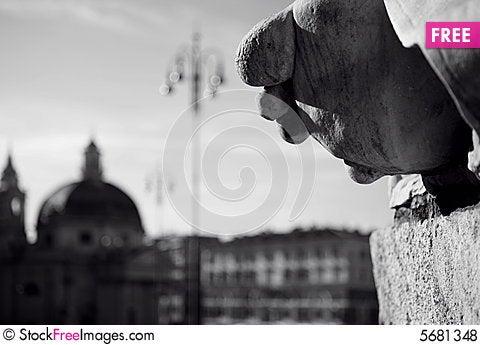 Free Piazza Popolo Royalty Free Stock Photos - 5681348