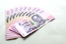 Thai Currency Stock Image