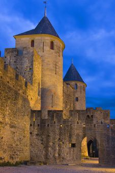 Free Carcassonne Towers Stock Photo - 5680190
