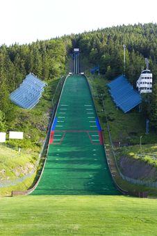 Free Ski Jumping Ramp Royalty Free Stock Photos - 5680948