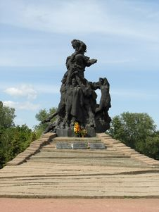 Free Babiy Yar Monument In Kiev Stock Photography - 5681062
