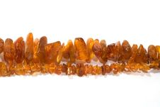 Free Amber Beads Royalty Free Stock Images - 5681199