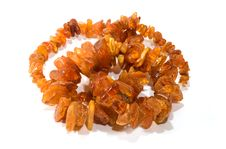 Free Amber Beads Stock Photography - 5681202