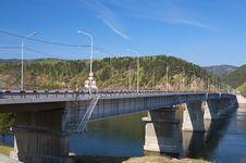 Free Bridge On The River Stock Photos - 5682193