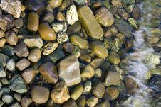 Seaside Pebbles Stock Photography