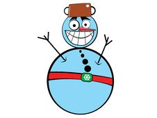 Free Snowman Royalty Free Stock Photo - 5682615