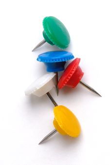 Free Thumbtacks Royalty Free Stock Photos - 5682768