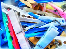 Free Clothespin Stock Photos - 5682933