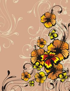 Free Floral Ornamental Background Royalty Free Stock Photography - 5683147