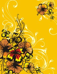 Free Floral Ornamental Background Stock Photo - 5683280