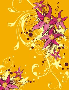 Free Floral Ornamental Background Stock Photos - 5683303