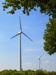 Free Windmills 6 Stock Photo - 5683330