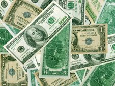 Free Background From Dollars Stock Images - 5683524