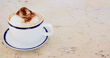 Free Cup Of Cappuccino Royalty Free Stock Images - 5683699