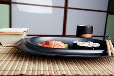 Free Sushi Dish Royalty Free Stock Image - 5684686