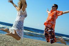 Free Love Jump. Royalty Free Stock Photo - 5684855