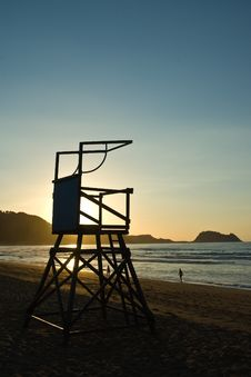 Free Lifeguard Lookout Stock Photography - 5685012