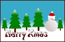 Free Merry Xmas Stock Photo - 5685200