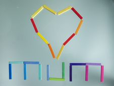 Free Mum And Heart Stock Photography - 5686492