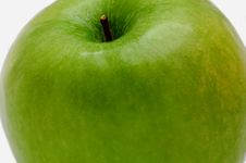 Tasty Green Apple Royalty Free Stock Photos