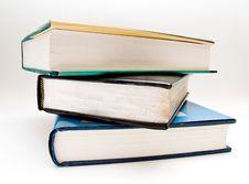 Free Three Books Stock Photos - 5687223