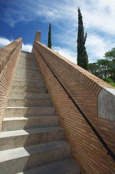 Stairs To Sky Royalty Free Stock Photos