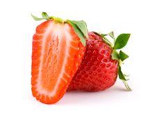 Free Two Ripe Strawberry Stock Photo - 5687960