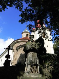 Free Statue Of Saint Stock Photos - 5688463
