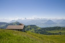 Free Swiss_landscape Royalty Free Stock Photography - 5688747