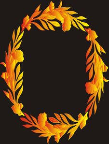 Free Floral Frame Royalty Free Stock Photo - 5689065