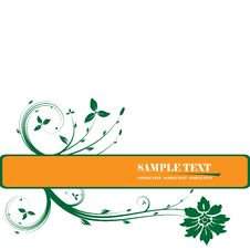 Free Floral Frame Royalty Free Stock Photography - 5689137