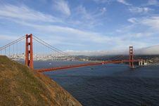 Free Bridge, City And Fog Royalty Free Stock Photography - 5689827