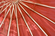 Free Red Umbrella Royalty Free Stock Image - 5689966