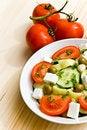 Free Mixed Greek Salad - Close Up Shot Stock Image - 5690501