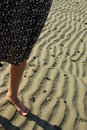 Free Lady On The Beach Stock Image - 5696791