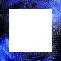 Free Blue Black Grunge Frame Royalty Free Stock Images - 5697529