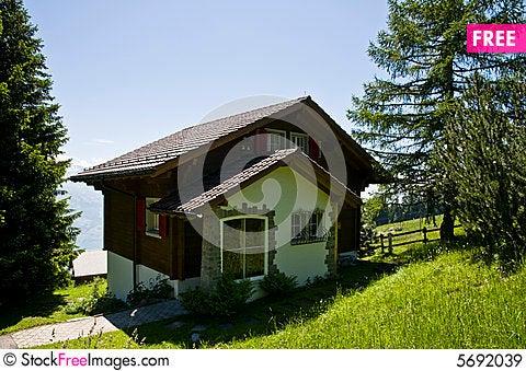 Swiss mountain house