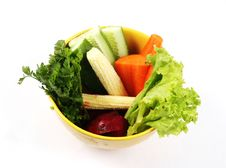 Free Vegetable Salad Royalty Free Stock Image - 5690046