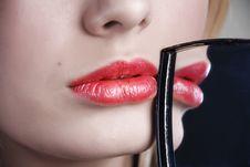 Free Scarlet Lips Stock Photo - 5690090