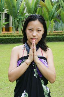 Free Asian Woman Stock Image - 5690951