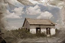 Abandoned Farm. Near Chernobyl Area.  Kiev Region Stock Image