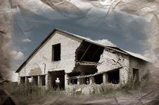 Abandoned Farm. Near Chernobyl Area.  Kiev Region Stock Photos
