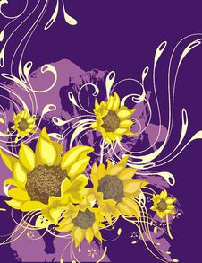Free Floral Ornamental Background Royalty Free Stock Images - 5691149