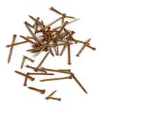Free Rusty Nails Royalty Free Stock Photos - 5691238