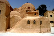 Free St. Bishop Monastery, Egypt Royalty Free Stock Images - 5691309