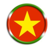 Suriname Shield For Olympics Stock Photography