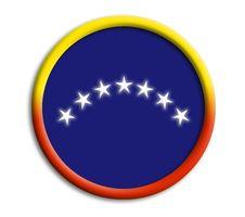 Venezuela Shield Royalty Free Stock Image