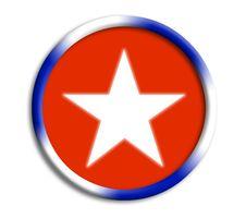 Cuba Shield For Olympics Royalty Free Stock Photo